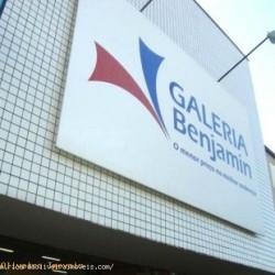 Aluga lojas na Galeria Benjamin